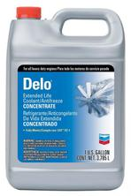 Chevron DELO Extented Life Antifreeze (красный)