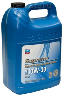 Chevron Supreme Motor Oil SAE 10W-30