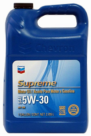 Chevron Supreme Synthetic SAE 5W-30
