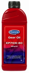 Comma GEAR OIL EP75w80