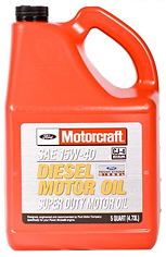 Motorcraft 15W-40 Diesel Super Duty