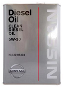 Nissan Clean Diesel Oil DL-1 5W30