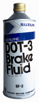 Suzuki DOT-3 BRAKE FLUID
