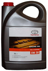 Toyota Engine Oil Fuel Economy SAE 5W30