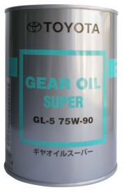 Toyota GEAR OIL SUPER GL-5 75W90
