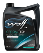 WOLF OFFICIALTECH 0W30 MS-BHDI