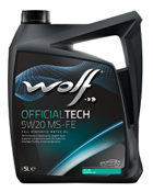 WOLF OFFICIALTECH 5W20 MS-FE